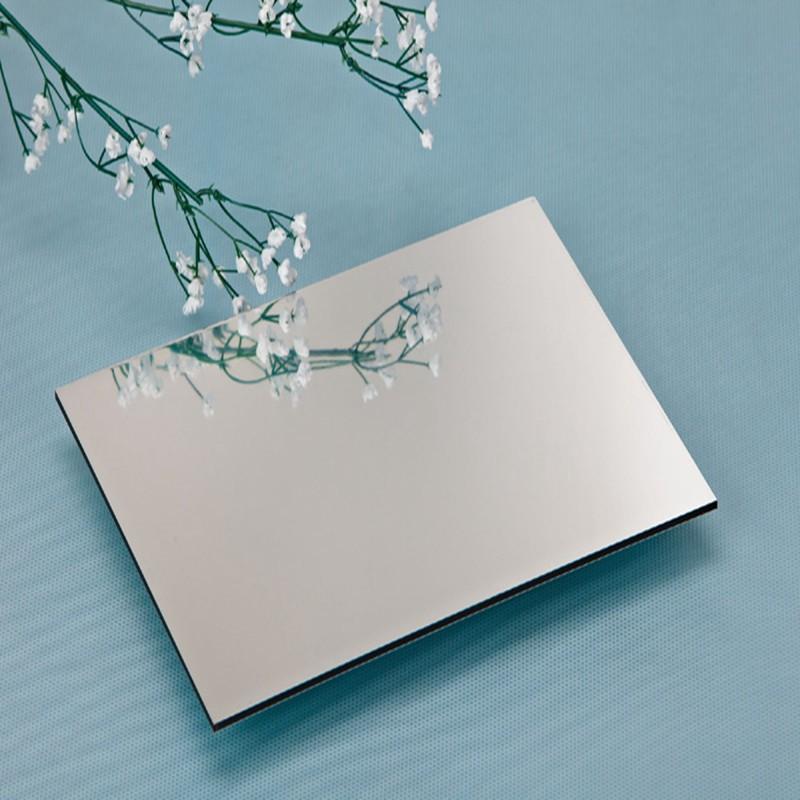 银色亚克力镜面板